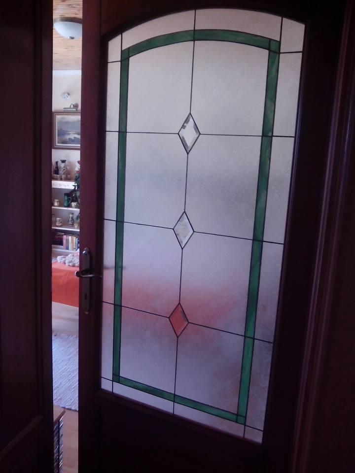 Tiffany üveg háló