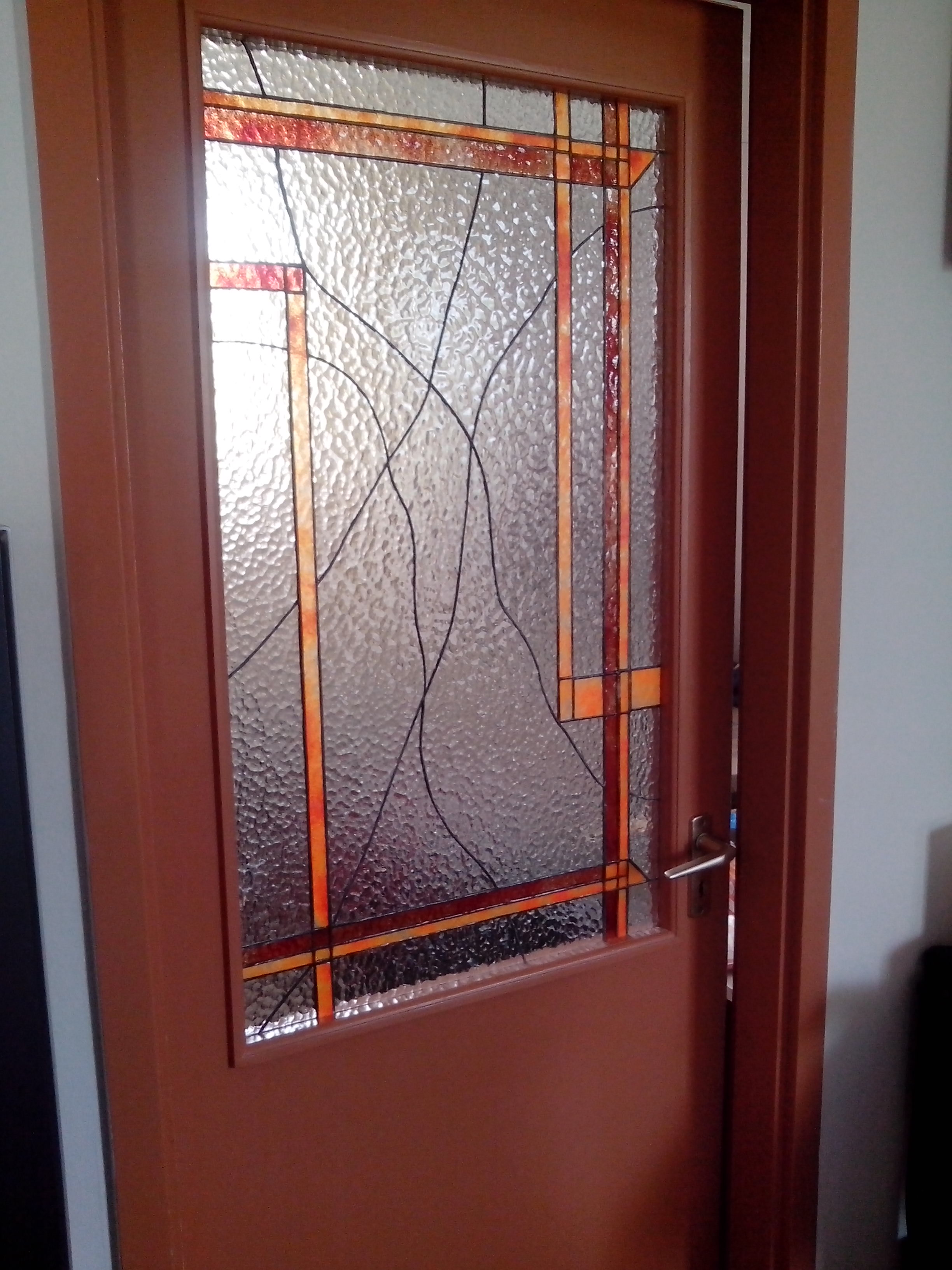 egyszerű ajtóüveg